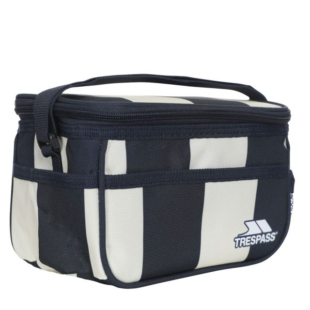 3 Litre Stay Cool Lunch Box in Navy Stripe