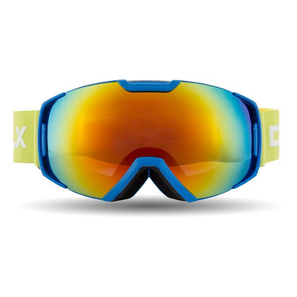 Oath Kids DLX Ski Goggles in Blue, Front view