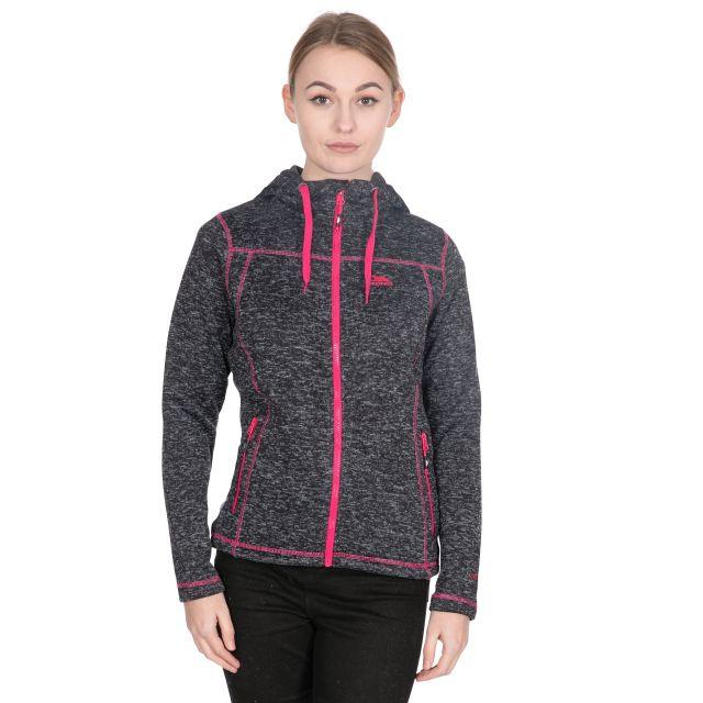 Odelia B Women's Pink Knitted Fleece in Black