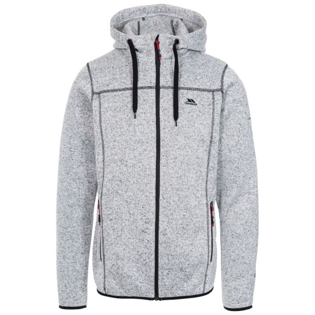 Odeno Men's Fleece Hoodie in White
