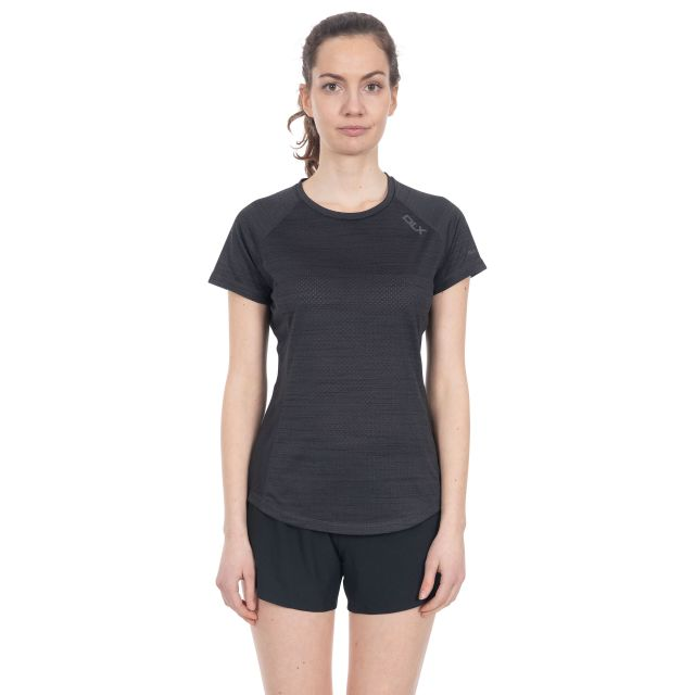 Oracle Women's DLX Quick Dry Active T-Shirt in Grey