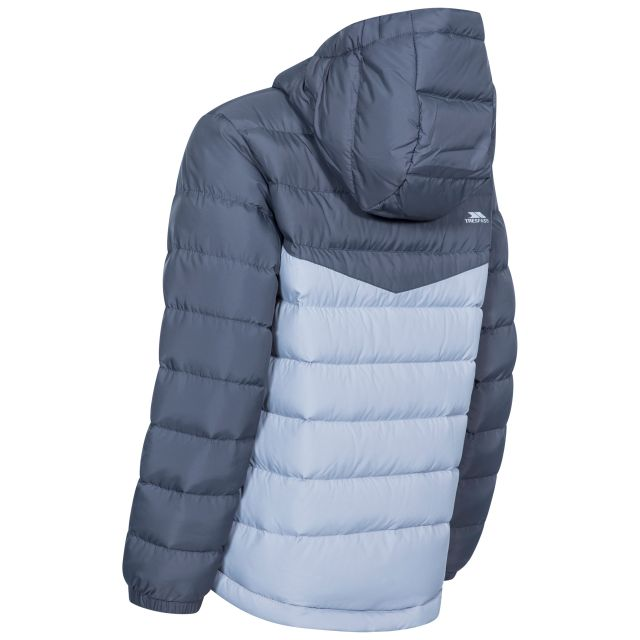 Oskar Kids' Padded Casual Jacket in Grey