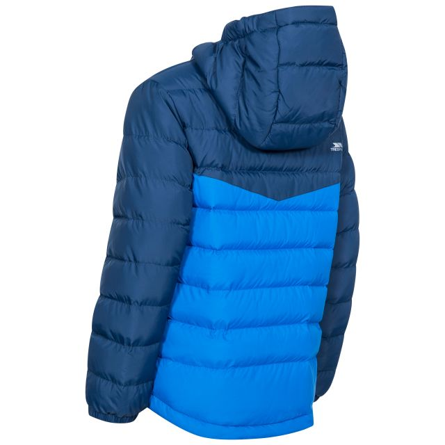 Oskar Kids' Padded Casual Jacket in Navy