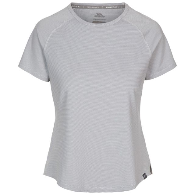 Trespass Women's Top Outburst Storm Grey