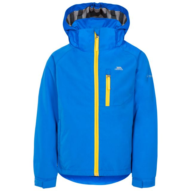 Overwhelm Kids' Waterproof Jacket in Blue