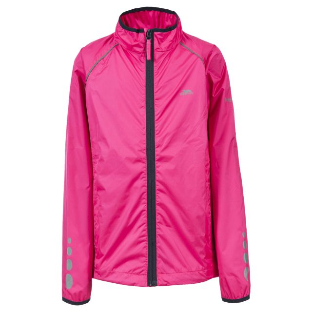 Paceline Kids' Active Jacket in Pink
