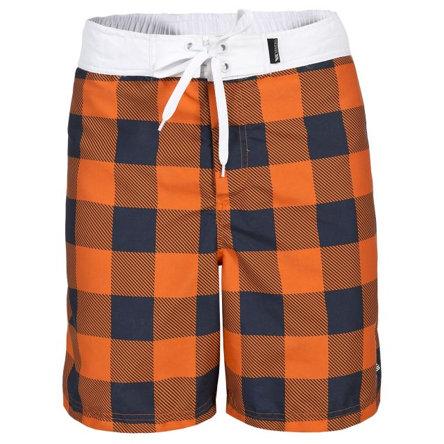 Pacino Men's Swim Shorts in Orange