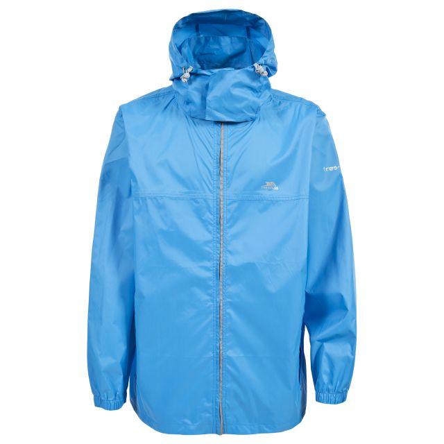 Packup Adults' Waterproof Packaway Jacket in Blue