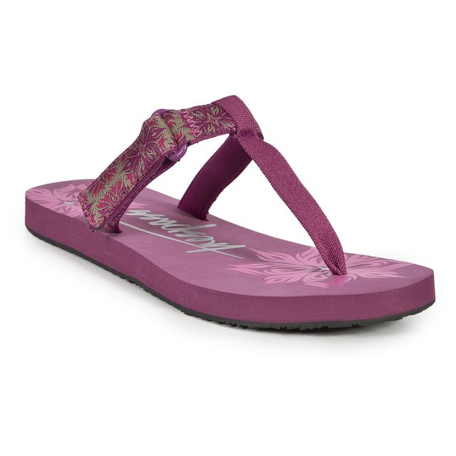 Panora Women's Velcro Flip Flops - AZA