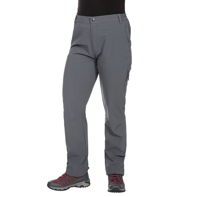 Pasture Women's Quick Dry Walking Trousers in Grey