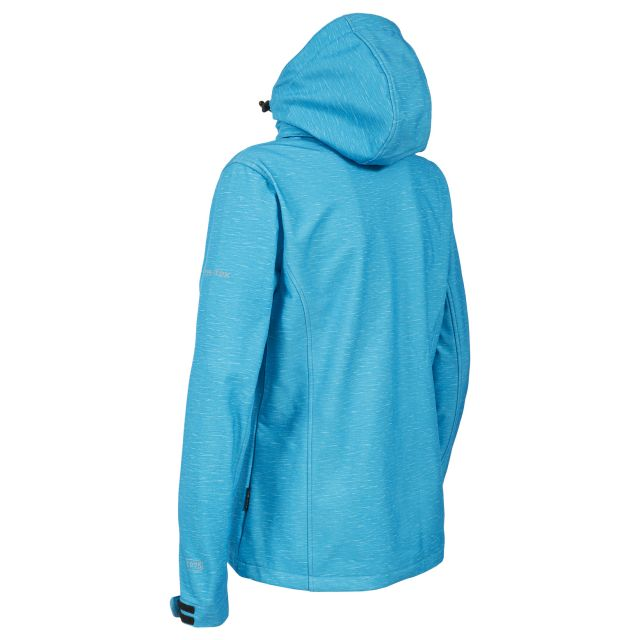 Trespass Womens Softshell Jacket Paulina in Turquoise