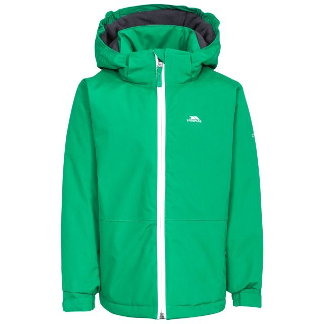 Penalty Boys' Insulated Windproof Waterproof Jacket in Green