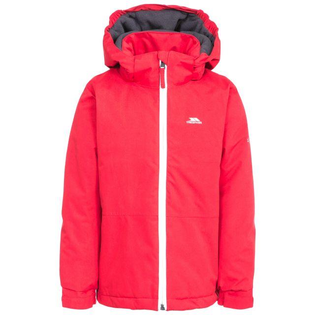 Penalty Boys' Insulated Windproof Waterproof Jacket in Red