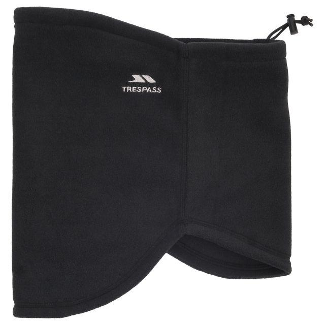 Perez Unisex Neck Warmer in Black
