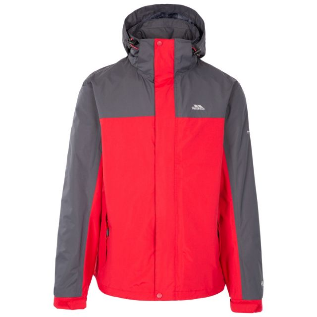 Phelps Men's Waterproof Jacket in Red Flint