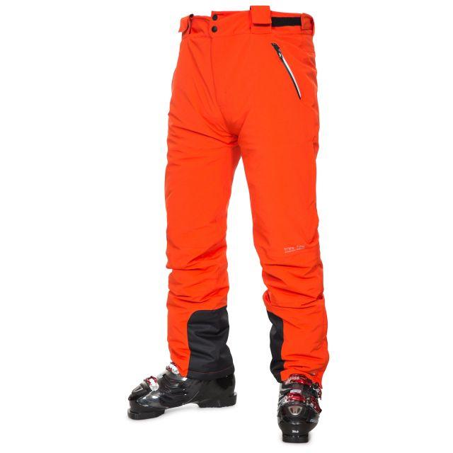 Pitstop Men's Salopettes in Orange