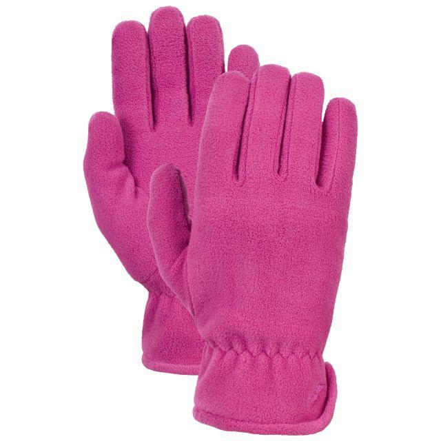 Plummet Unisex Fleece Gloves in Pink