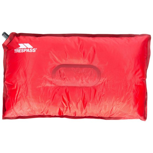 Inflatable Foam Pillow in Red