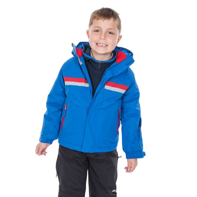 Propell Boys' Ski Jacket in Blue