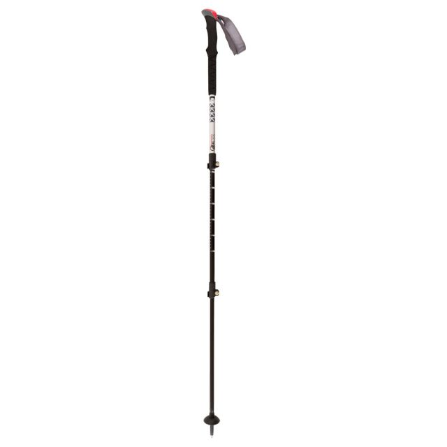 Trespass Collapsible Trekking Pole Lightweight Qiklock Silver