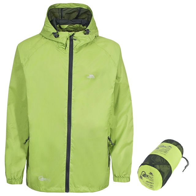 Qikpac Unisex Waterproof Packaway Jacket - LEF