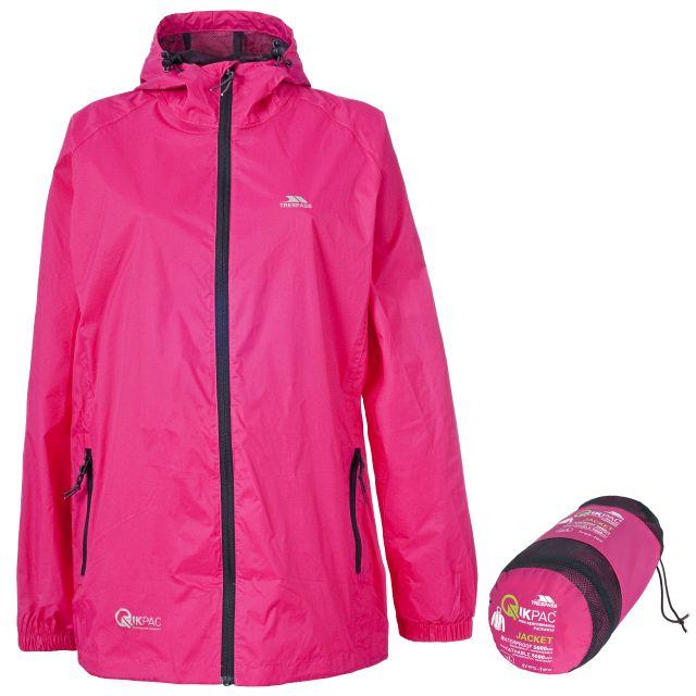 Qikpac Unisex Waterproof Packaway Jacket - SLL