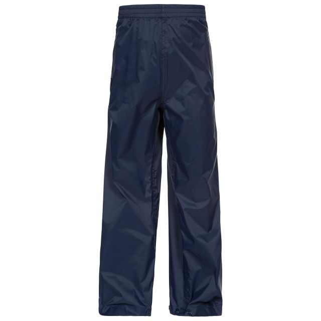 Qikpac Kids' Waterproof Trousers in Navy