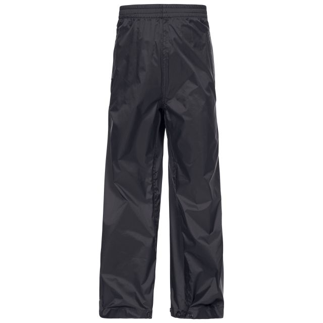 Qikpac Kids' Waterproof Trousers in Black