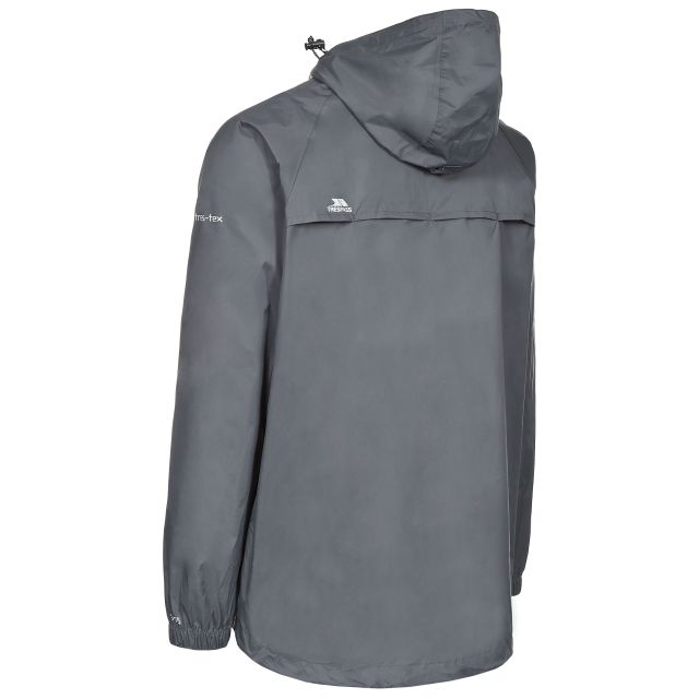 Qikpac Adults' Waterproof Packaway Jacket in Grey