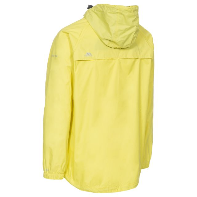 Qikpac Adults' Waterproof Packaway Jacket in Yellow