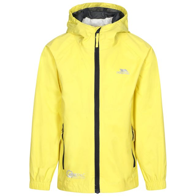 Qikpac Kids' Waterproof Packaway Jacket in Yellow