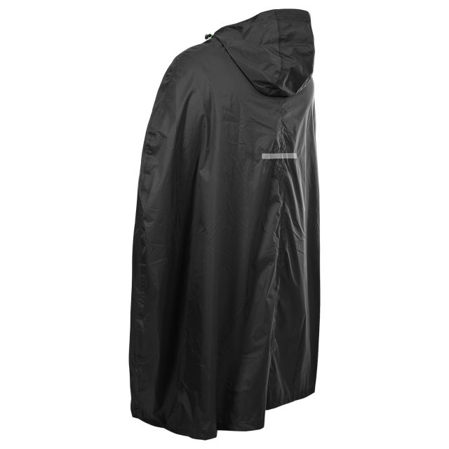 Qikpac Unisex Waterproof Poncho in Black