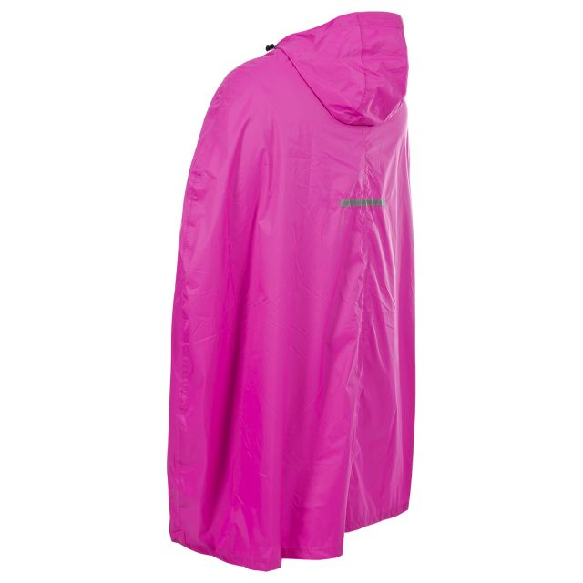 Qikpac Adults' Waterproof Poncho in Pink