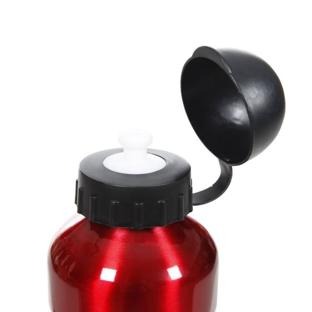 Aluminium Water Bottle 600ml in Red