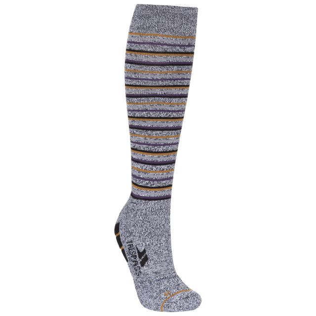 Quince Men's Walking Socks in Grey
