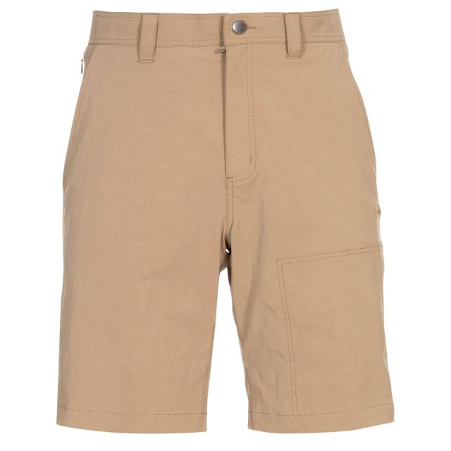 Rademoncliffe Men's Travel Shorts in Beige