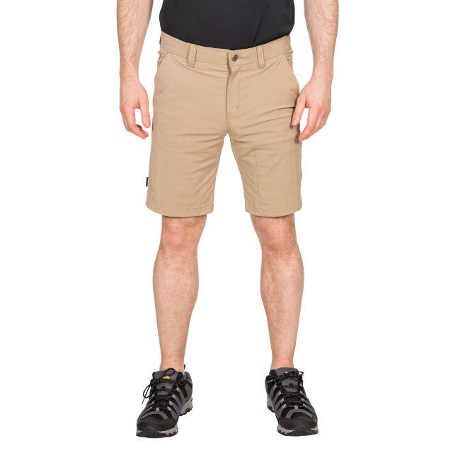 Rademoncliffe Men's Travel Shorts in Beige