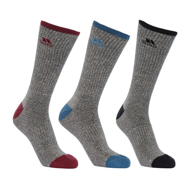 Radulf Men's Quick Dry Socks - 3 Pack in Assorted