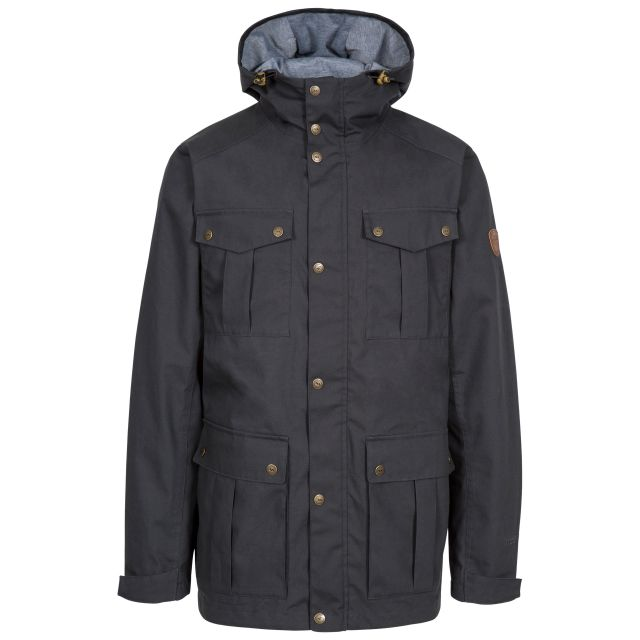 Raharra Men's Waterproof Jacket in Grey