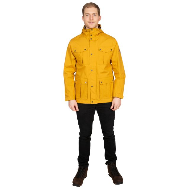 Raharra Men's Waterproof Jacket in Yellow