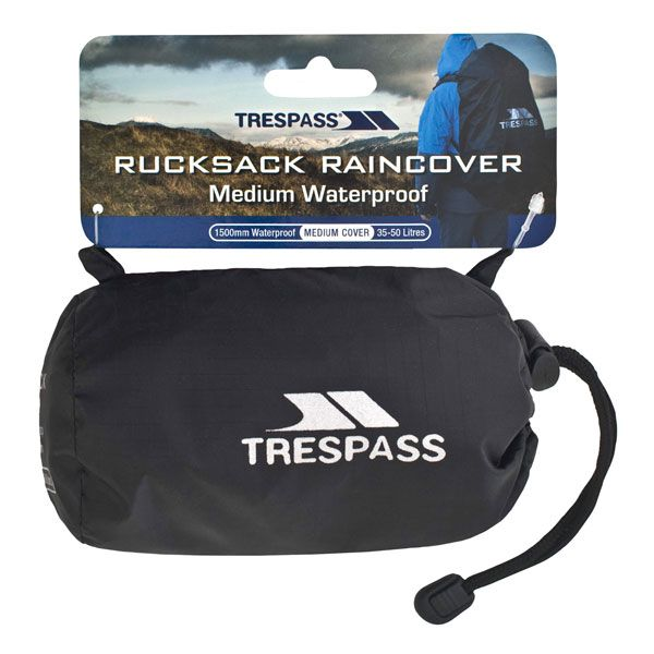 Waterproof Rucksack Cover in Black