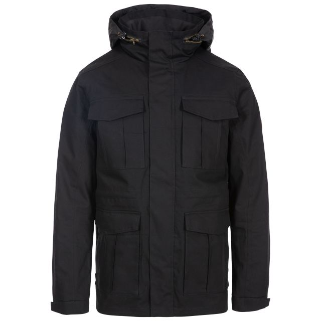 Rainthan Men's Waterproof Jacket in Black