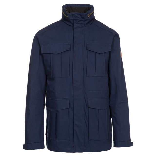 Rainthan Men's Waterproof Jacket in Navy