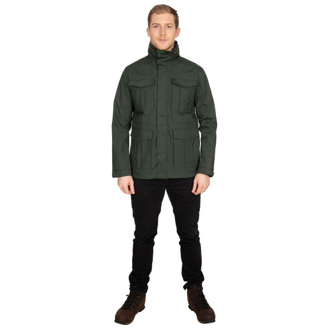 Rainthan Men's Waterproof Jacket in Khaki