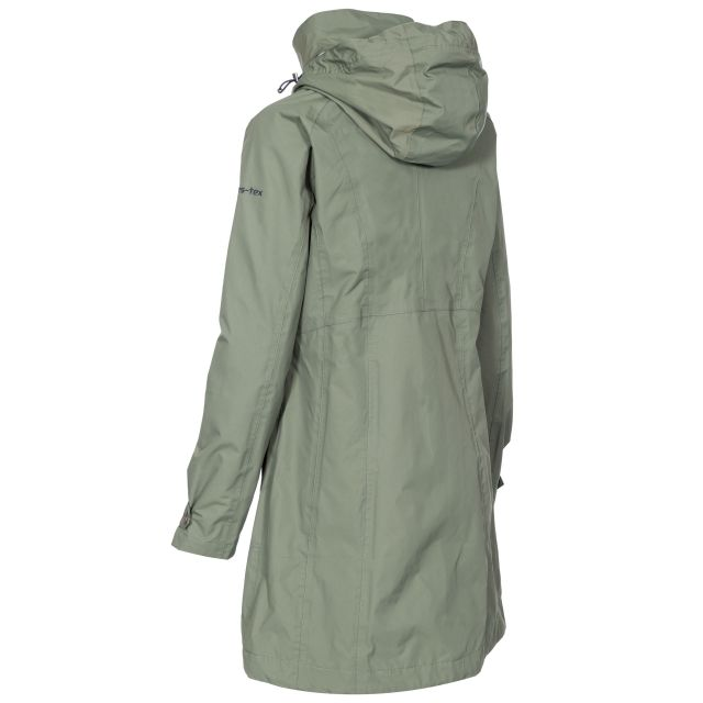 Rainy Day Women's Waterproof Jacket in Green