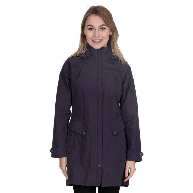 Rainy Day Women's Waterproof Rain Jacket in Black