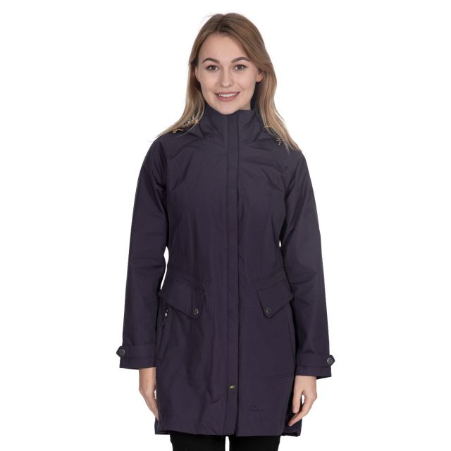 Rainy Day Women's Waterproof Jacket in Black