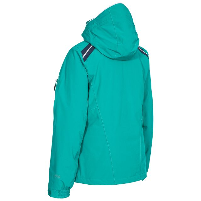 Raithlin Women's Waterproof Ski Jacket in Green