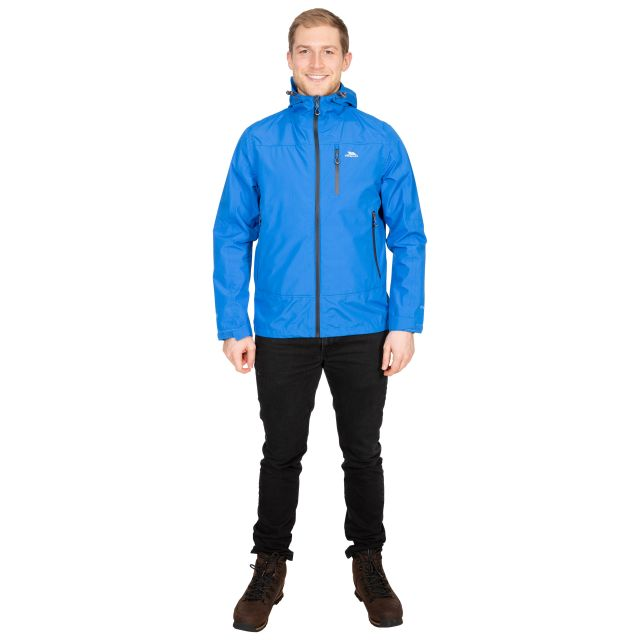 Rakenfard Men's Waterproof Jacket in Blue