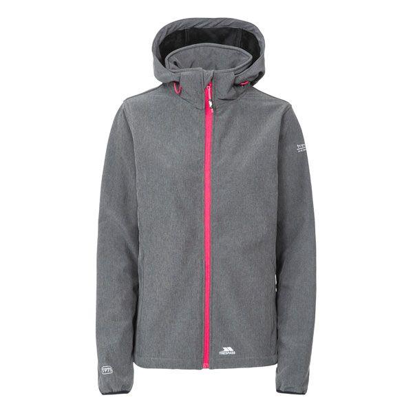 Ramona Women's Softshell Jacket in Grey